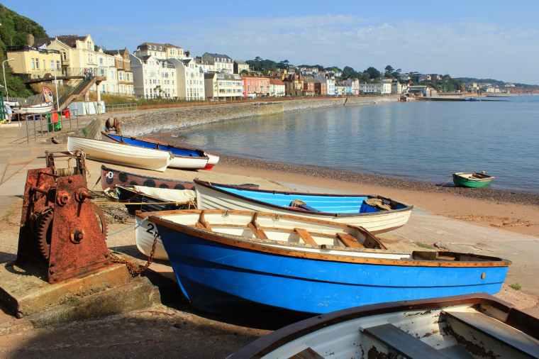 beach boats coast coastal